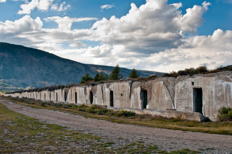 The abandoned munitions bunkers at Camp Hale are some of the last remaining echoes of the areas historic military past.