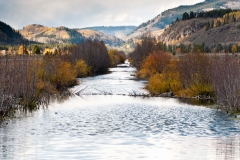 Riparian restoration is one goal the National Forest Foundation will achieve by restoring the straightened section of the Eagle River that was channelized during construction of the military training facility in the early 1940s.