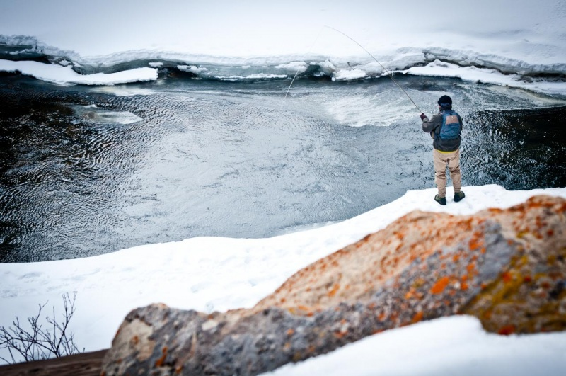 Fly fishing is a non-mechanized activity allowed in designated Wilderness Areas.