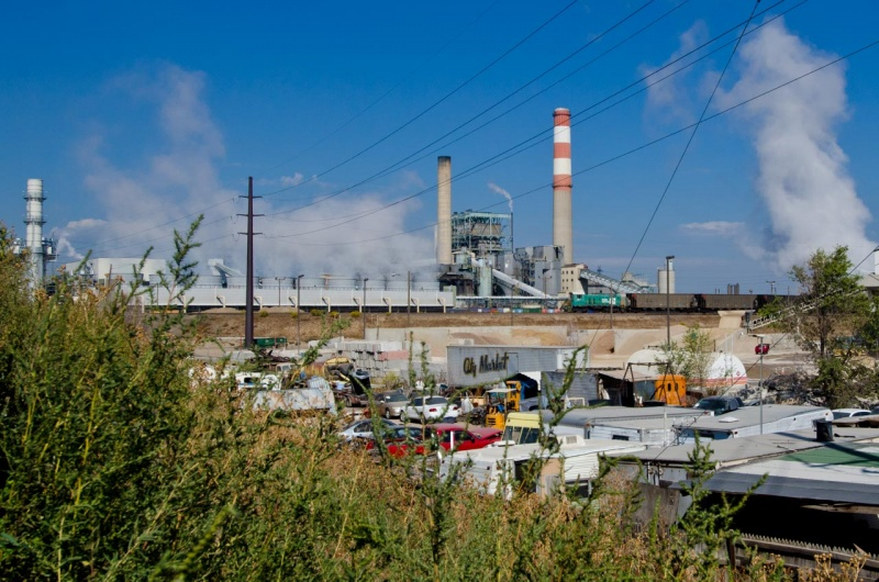 The Cherokee Generating Station that creates power using natural gas.