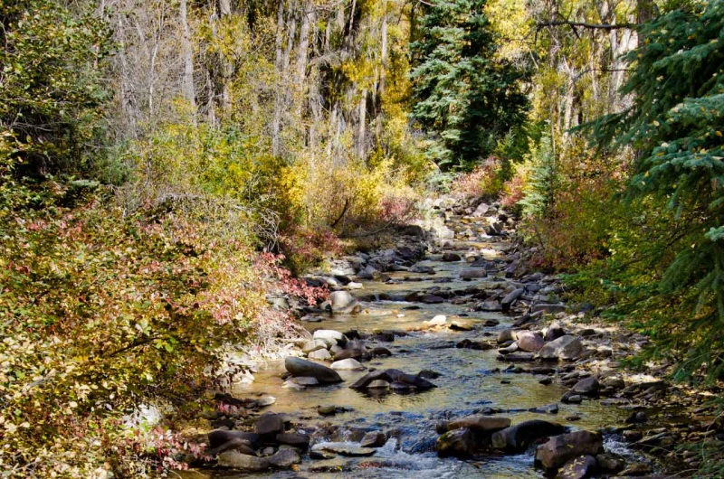 Two Elk Creek is a tributary of the Eagle River, a tributary of the Upper Colorado River.