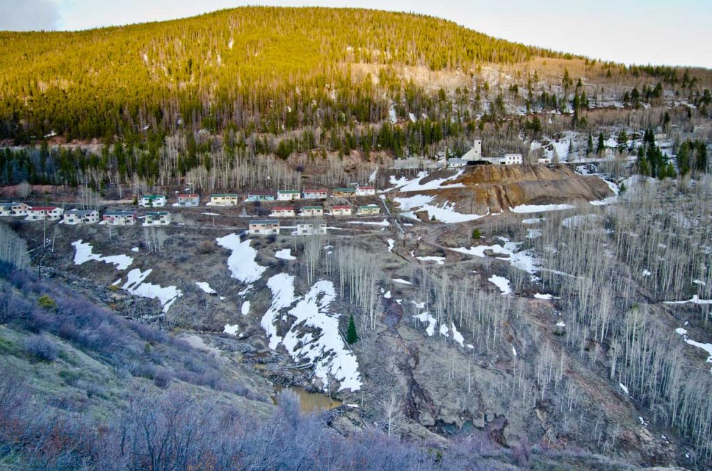 Abandoned Town of Gilman and Rock Creek