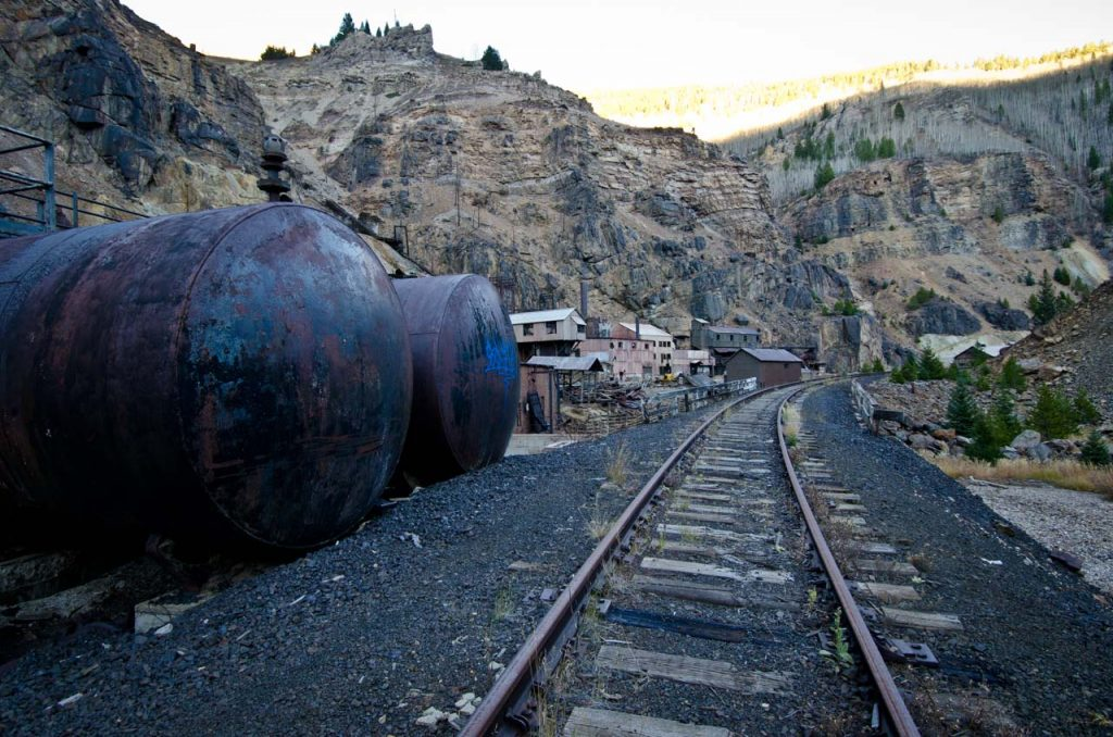 Abandoned Boiler Tanks at the Eagle Mine Superfund