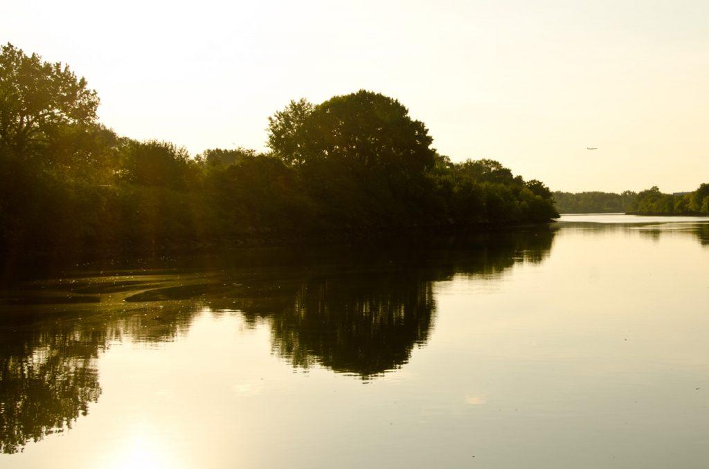 Sunrise on the Bronx River