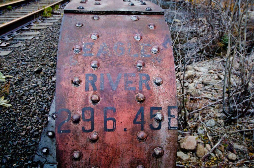 Railroad Crossing the Eagle River